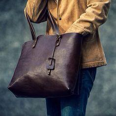 JEFF.LTD Leather Tote Bag. #jeff #jeffltd #leathercraft #totebag #leather