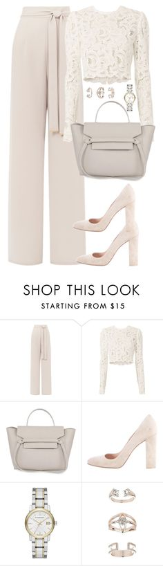 """""""Unbenannt #2248"""" by luckylynn-cdii ❤ liked on Polyvore featuring A.L.C., Gianvito Rossi, Burberry and Topshop"""