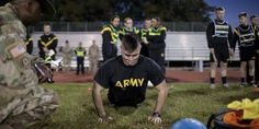 The Army's Radical Fitness Shift The U.S. Army's physical-fitness test could get more physical soon. A proposed overhaul of the Army's decades-old test includes a barbell lift, a sprint with 40-pound kettlebells and a brutal new style of push-up. The test would be a dramatic shift for ...