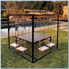 50 summer diy projects pallet swings design ideas and remodel Future House, House Goals, Dream Rooms, My Dream Home, Home Projects, Pallet Projects, Pvc Pipe Projects, Diy Home Decor, New Homes