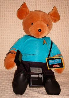 Star Trek Bear Original Series Spock Bear VIB North American Bears CO   eBay