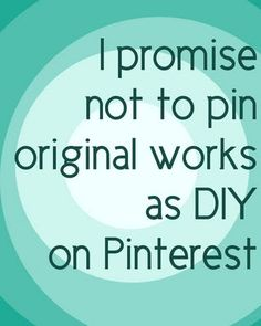 """I know I'm not the only one who has found beautiful items on Pinterest tagged as ""DIY"" and ""easy to make,"" only to follow the links to the original source and find yourself in someone's Etsy shop or place of business on the web instead of a tutorial intended to be reproduced. Many of my fellow Etsy seller friends have seen this happen with their own work.    The fact is, it's hurtful and discouraging to find one of your items tagged or categorized as DIY and it can negatively impact your…"