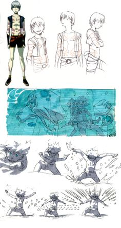 SCRIBBLES. by `LeSeanThomas on deviantART ✤ || CHARACTER DESIGN REFERENCES | Find more at https://www.facebook.com/CharacterDesignReferences if you're looking for: #line #art #character #design #model #sheet #illustration #expressions #best #concept #animation #drawing #archive #library #reference #anatomy #traditional #draw #development #artist #pose #settei #gestures #how #to #tutorial #conceptart #modelsheet #cartoon #toddler #baby #kid