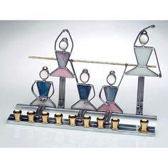 13939 Fancy dancer or princess ballerina Light it and dance to the joy of Hanukkah light. Available at judaism.com $180.