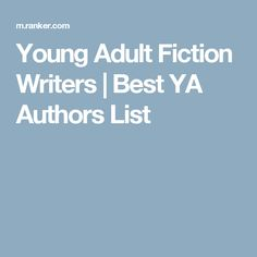 the best young adult authors - Poetry Submission Cover Letter