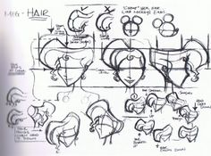 Megara's hair - concept art