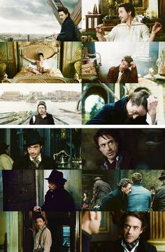 The adventures of Sherlock Holmes (Robert Downey Jr.)