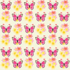 Free digital butterfly scrapbooking paper - ausdruckbares Geschenkpapier - freebie | MeinLilaPark