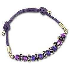Polly Purple Bracelet