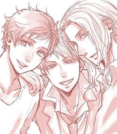 Hetalia-Bad Touch Trio-Spain, Prussia, France