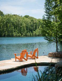 'Hidden Lake,' Nashville, TN. Big-D Signature, custom home builder, Jackson, WY.
