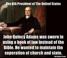 We are not a theocracy Christians. You should have no say in government... it's bad enough on its own.