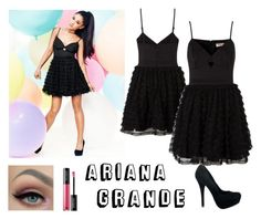 """""""Ariana Grande #6"""" by tva-lpz ❤ liked on Polyvore featuring Lipsy and MAKE UP FOR EVER"""