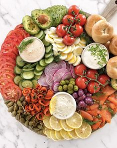 This Lox and Bagel Platter recipe is featured in the Brunch at Home feed along with many more. Breakfast And Brunch, Breakfast Platter, Perfect Breakfast, Bagel Bar, Party Food Platters, Cheese Platters, Christmas Brunch, Christmas Morning, Christmas Holidays