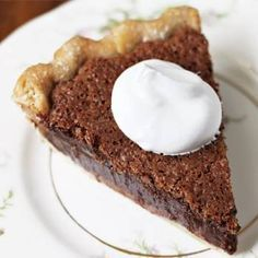 Golden Corral Recipes:  Chocolate Chess Pie                                                                                                                                                     More
