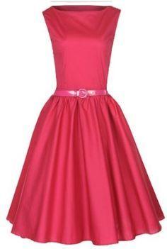 Lindy Bop Classy Vintage Audrey Hepburn Style 1950's Rockabilly Swing Evening Dress,$46.99