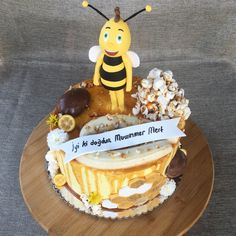 Willy caramel and Honey cake