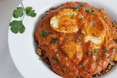 My husband says I am part snake: I love eggs!!  That's why this yummy looking Egg Curry recipe looks so excellent to me.....(Then again, it could just be my good taste! After all.. I did marry the guy!)