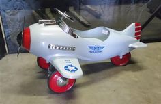 www.M37Auction.com: Child's Ride In Pedal Airplane - Great Christmas Gift!