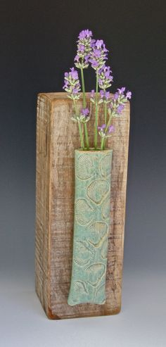 Wall Vase by Bivaletz Stoneware Pottery for flowers anywhere