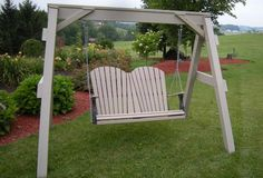 Back Porch Designs | relax on your back porch with an amish made porch swing made with the ...