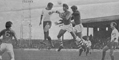 Doncaster Rov 1 Gillingham 0 in March 1970 at Belle Vue. Rovers attack from a corner in the Division clash. Doncaster Rovers, Gillingham, Football Pictures, Yorkshire, Division, 1970s, March, Corner, Soccer Pics