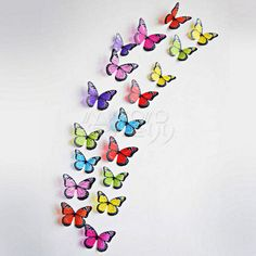 UK-DIY-Modern-Mirror-Wall-Sticker-Rectangle-Butterfly-Art-Decal-Home-Decorations