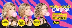#HollywoodDarlings Premieres tonight on Pop TV and Interview with the Stars #ad