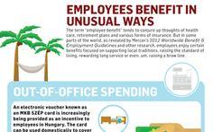 Employees benefit in unusual ways
