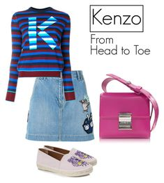 """""""Untitled #66"""" by hfirlyana on Polyvore featuring Kenzo"""
