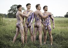 So by now, you've PROBABLY heard of the Warwick Rowers aka the Naked Rowers aka the British guys who pose for a naked calendar to fight homophobia in sports .