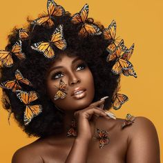 Schönheit ist die Essenz der Seele - Beauty Photography von Joey Rosado - Hank Beauty is the Essence of the Soul - Beauty Photography by Joey Rosado Beauty Fotografie Schmetterling Black Girl Art, Black Women Art, Beautiful Black Women, Black Girl Magic, Art Girl, Black Art, Beauty Photography, Portrait Photography, Fashion Photography