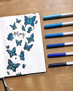 Are you looking for bullet journal monthly cover ideas for May? In this post, I& sharing a collection of May bullet journal cover ideas. Bullet Journal School, Bullet Journal Cover Ideas, Bullet Journal Lettering Ideas, Bullet Journal Banner, Bullet Journal Notebook, Bullet Journal Ideas Pages, Journal Covers, Bullet Journal Inspiration, February Bullet Journal