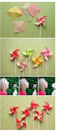 pinwheels for  Holder