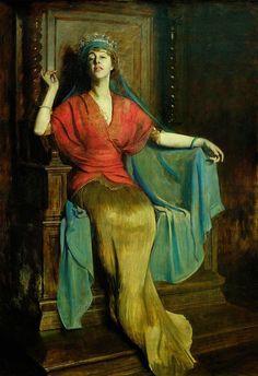 Bolesław Szańkowski(Polish,1873-1954), Daisy von Pless, 1917