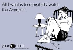 Avengers: all day, every day.