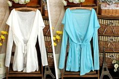 Lightweight Hooded Cardigan - 3 Colours!