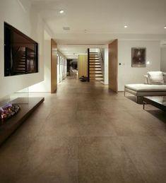 Perfekt Bodenfliesen Keramische Fliesen Weiße Wände Wohnzimmer