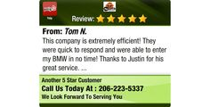 This company is extremely efficient! They were quick to respond and were able to enter my...