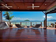 Tour a Beachfront Retreat in East Bedarra Island, Australia   HGTV.com's Ultimate House Hunt >> http://www.hgtv.com/design/ultimate-house-hunt/2015/international-homes/international-homes-beachfront-retreat-in-east-bedarra-island-australia?soc=pinhuhh