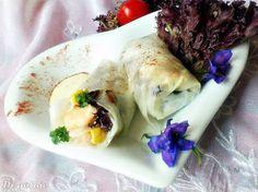 Di gotuje: Sajgonki (spring rolls) z krewetkami i sosem serow...