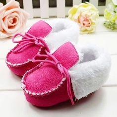 New Zara Baby Girls Infant kid Rose winter Boot Booties shoe 9-12 Months Size 4