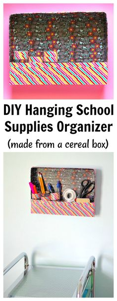 DIY Hanging School S