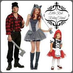 Red Riding Hood Group Costume