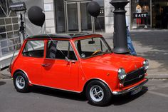 Innocenti Mini Cooper 1300 Red Mini Cooper, Mini Cooper Classic, Classic Mini, Classic Cars, Mini Morris, Austin Cars, Beautiful Women Quotes, Morris Minor, Import Cars