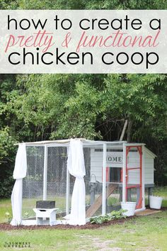 You CAN have a pretty chicken coop that is also safe for your chickens too. Let me show you how!
