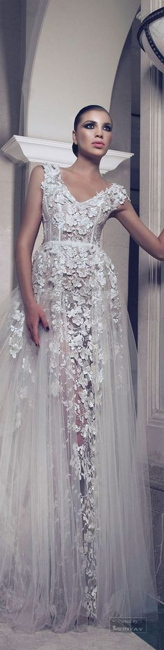 Best A-Line Wedding Dress: Charbel Karam Midnight lust 2015 collection. Bridal Dresses, Wedding Gowns, Prom Dresses, Dresses 2016, Dress Couture, Beautiful Gowns, Dream Dress, Pretty Dresses, Ball Gowns