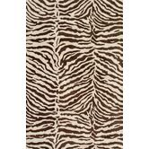 Found it at Wayfair - Greenwich Ratna with Art Silk Chocolate Rug
