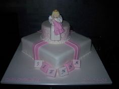 baby shower cakes angels | Angel with baby — Baby Shower