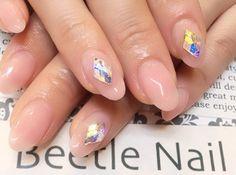Nail Art - Beetle Nail : 八幡|しあーべーじゅ